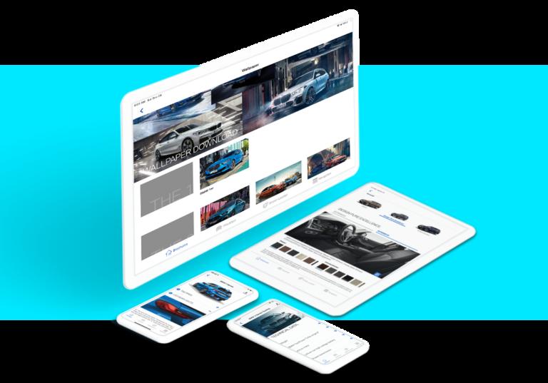 Kataloge App für BMW AG