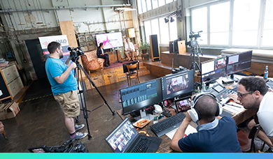 Livestreaming Studio-Setup