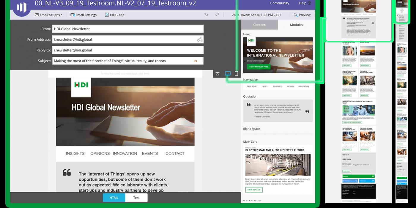 Newsletter länderspezifisch und datenschutzkonform versenden mit Marketo