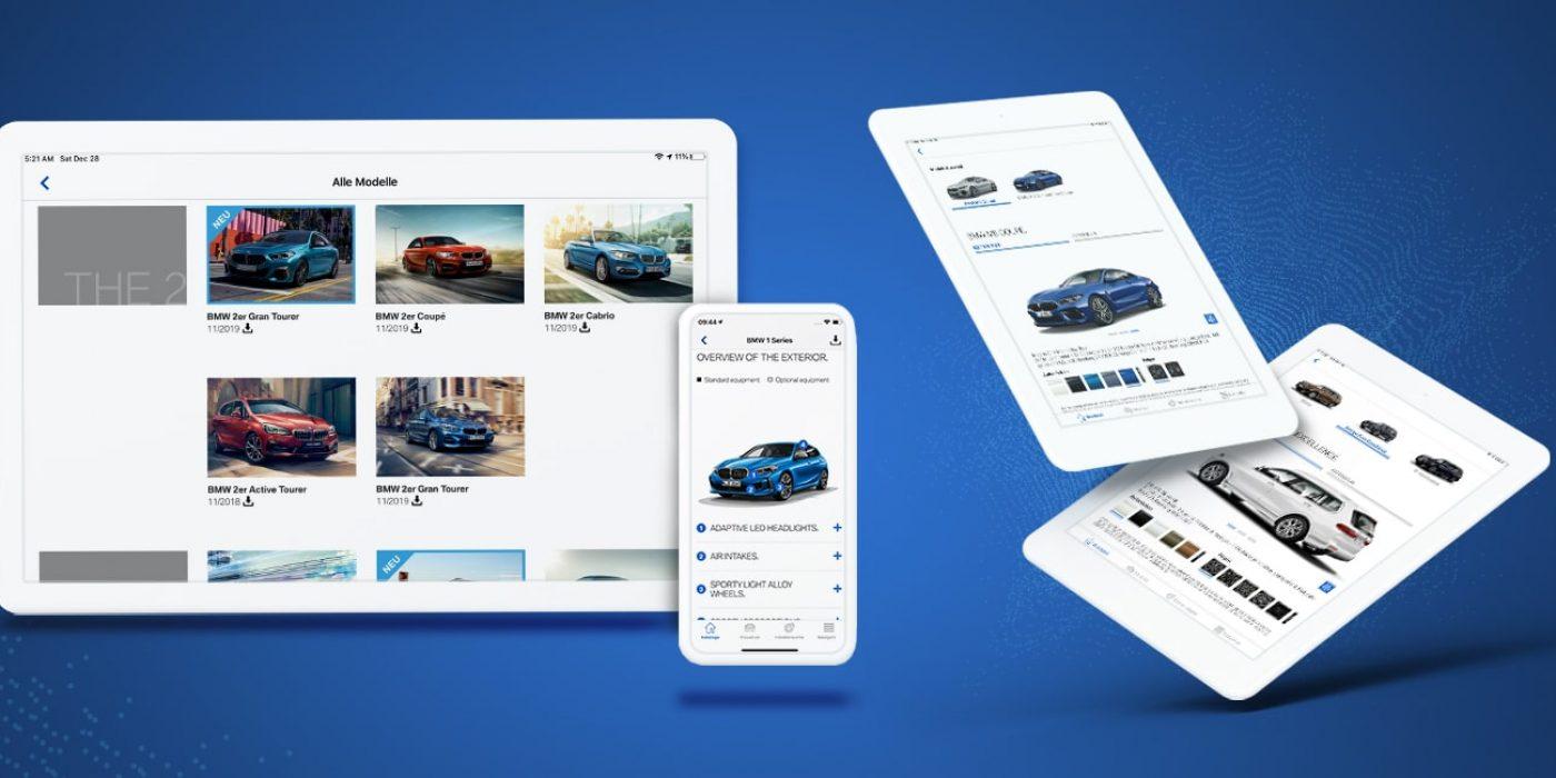 Katalog-App für BMW