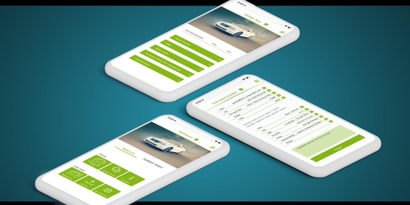 App zur digitalen Schadenserfassung inklusive Tracking