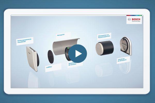 3D Erklärvideos und Produktvisualisierungen für Bosch Thermotechnik