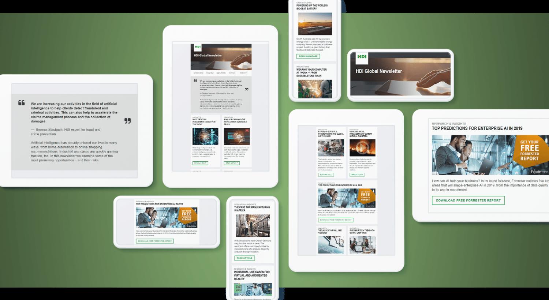 Automatisierte Newsletter-Kampagne mit Marketo