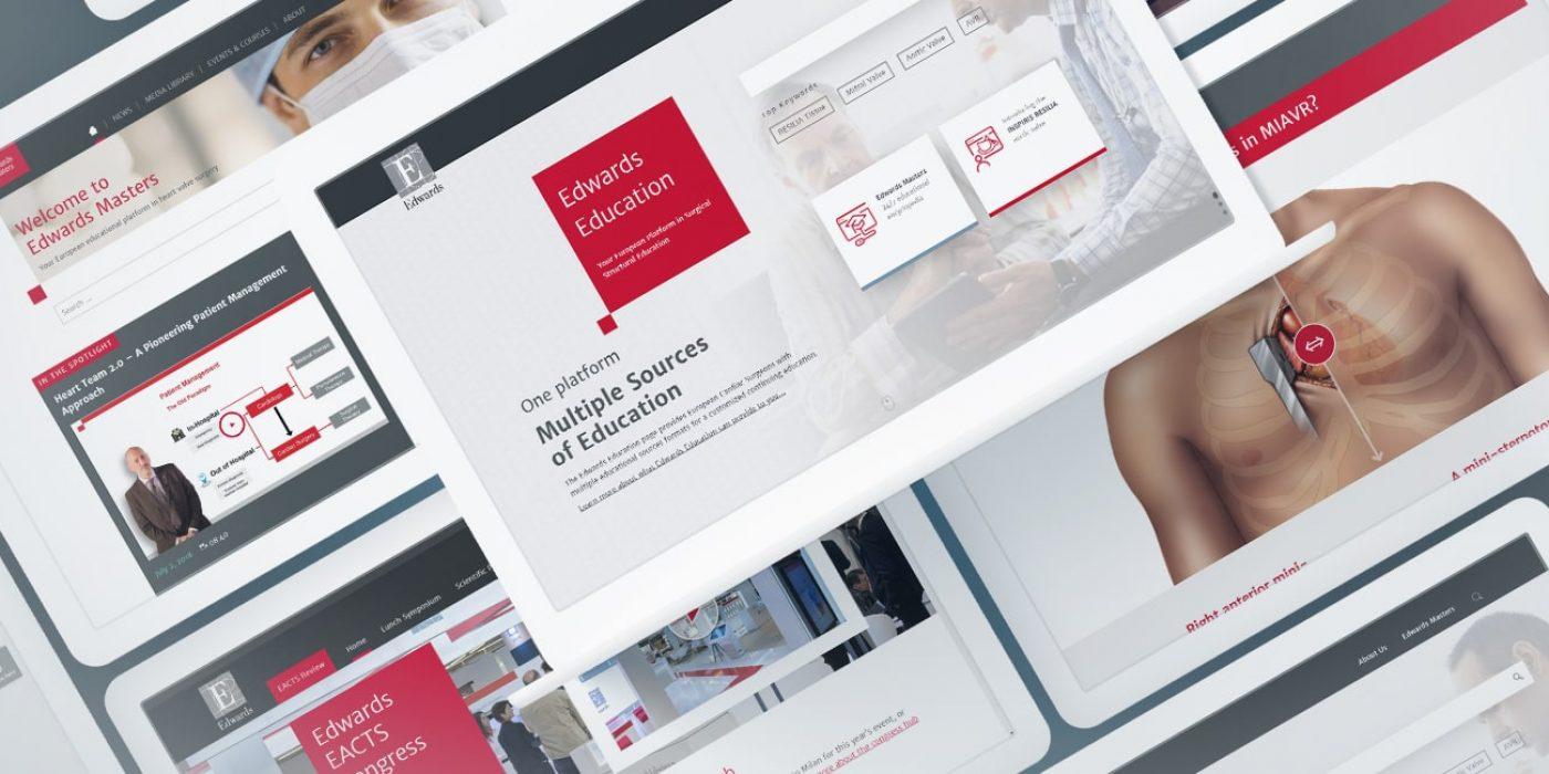 Wissensportal für Herzchirurgen, Edwards Lifesciences Corporation