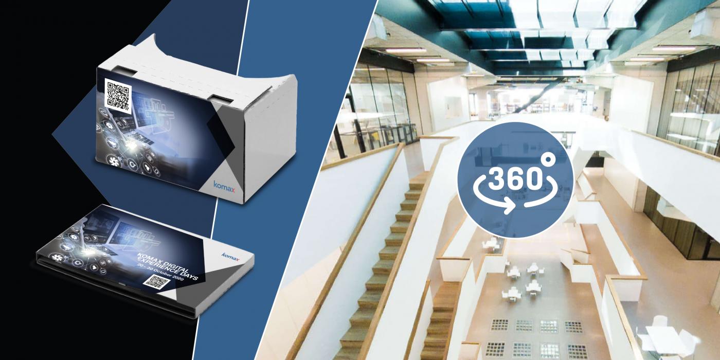 360° Showroom und 360°-Videos auf der Landingpage