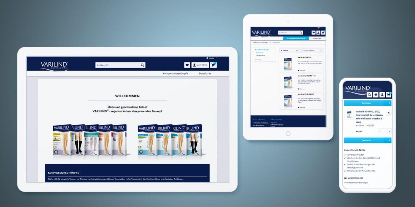 Neue Version des Online-Shops optimiert Prozesse